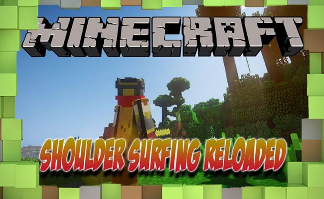 Скачать Мод Shoulder Surfing Reloaded для Minecraft